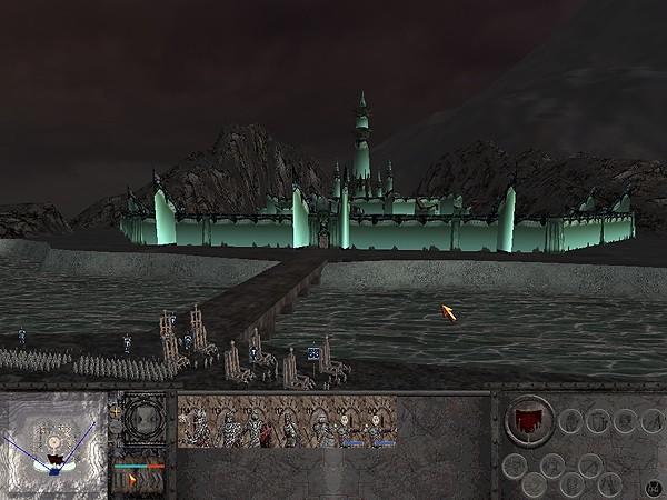 La città dei morti, dimora dei nazgul.