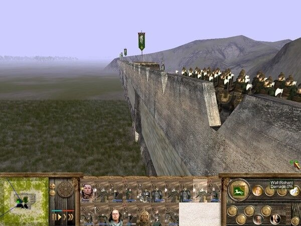 Helms Deep Walls