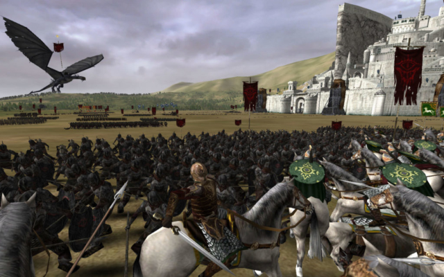 Minas Tirith battle