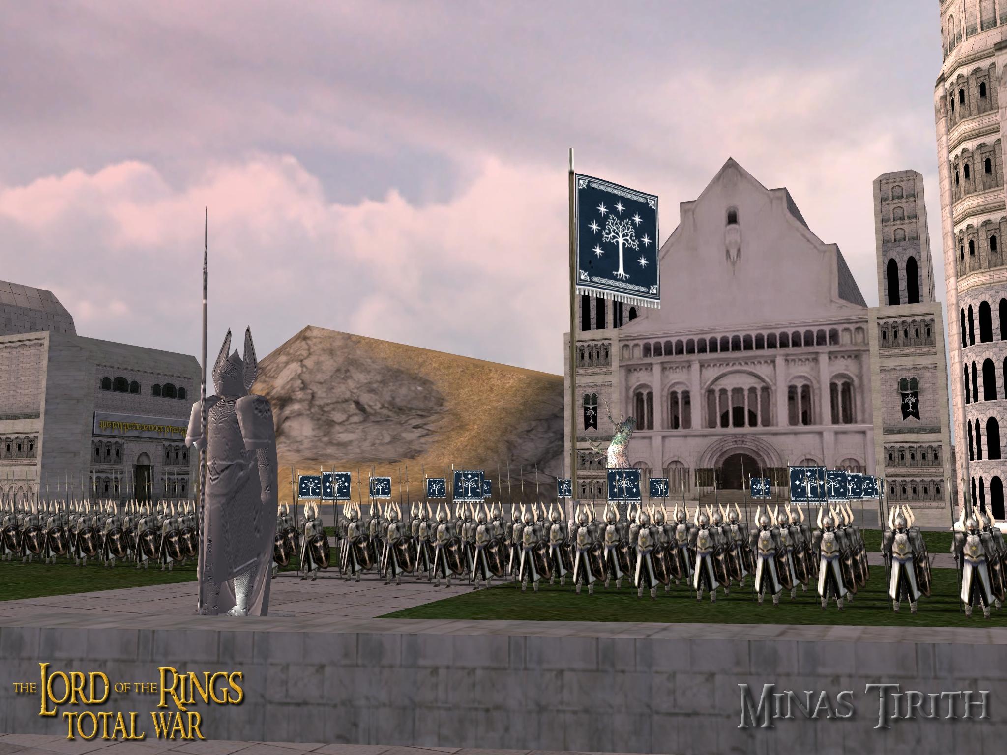 Minas Tirith - the Citadel