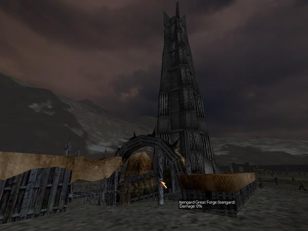 Isengard Armory and Orthanc