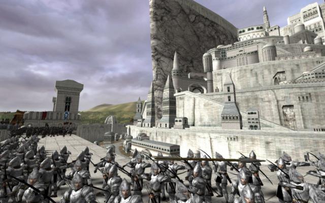Minas Tirith Walls